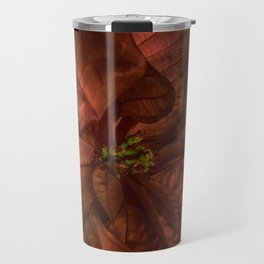 Christmas Flower Travel Mug