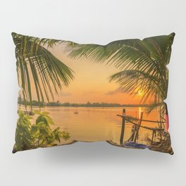 Sunset in Hoi An Vietnam Pillow Sham