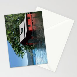 Red Boathouse Stationery Cards