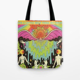 The Flaming Lips - With a Little Help From My Fwends Tote Bag