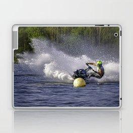 Jet ski on water Laptop & iPad Skin