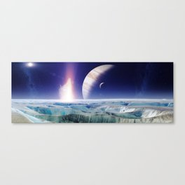 gAlaxY PLANET : Out of This World Canvas Print