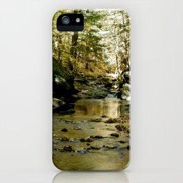 Cobb Brook Waterfall iPhone Case