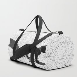 Cute cats shadows Duffle Bag