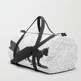 Cute cats shadows Duffle Bag