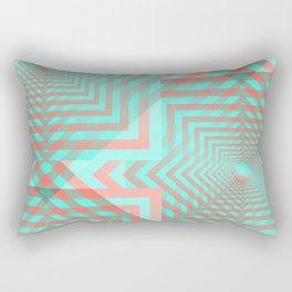 21 E=Codes4 Rectangular Pillow