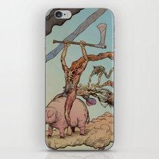 Death Rides A Pig iPhone & iPod Skin