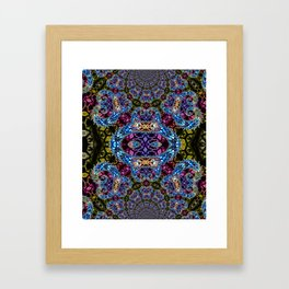 BBQSHOES: Fractal Design 1020C Digital Psychedelic Art Framed Art Print