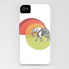 Elephant... iPhone (4, 4s) Slim Case