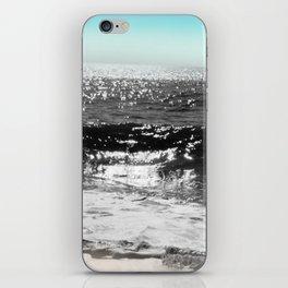 Cascading Waves iPhone Skin
