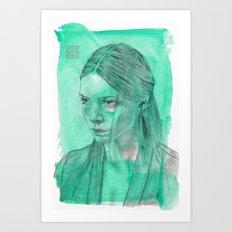 Phthalo Art Print