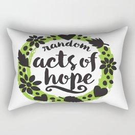Random Acts of Hope Rectangular Pillow