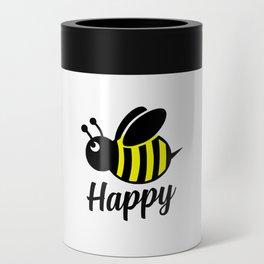 Bee happy feel good Design Can Cooler