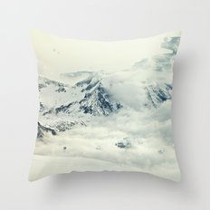 Frozen Planet Throw Pillow