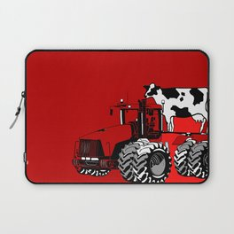 stolen tractor and cow Laptop Sleeve