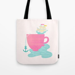 Cup of Sea Tote Bag