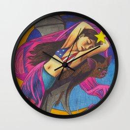 Midnight Bat Wall Clock