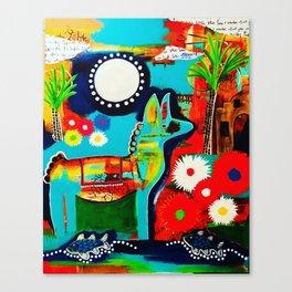 Mexican Love Canvas Print