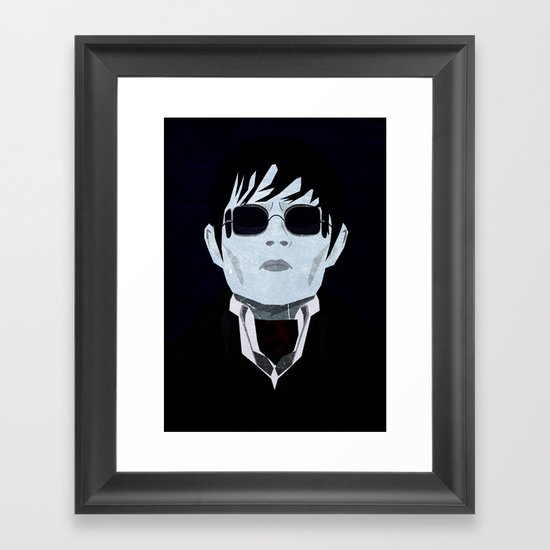 Barnabas Collins Framed Art Print