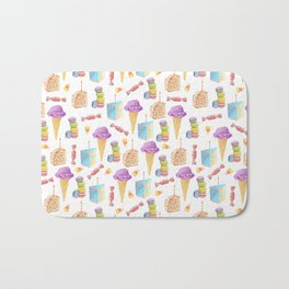 Birthday Girl Pattern Bath Mat
