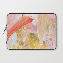 Shiloh - Abstract Contemporary Brushstrokes Laptop Sleeve