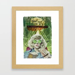 WW3 Framed Art Print