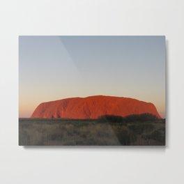 Uluru  Metal Print