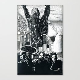 Humanity Rising Canvas Print
