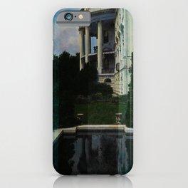 White House Lantern Slide Remastered iPhone Case