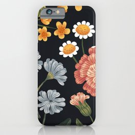 Wild Flowers ~ vol4. ~ dark iPhone Case