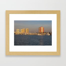Along the Banks of the Caloosahatchee Framed Art Print