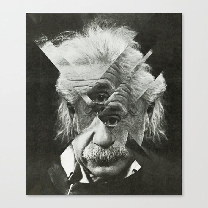 Albert E Mix 2 Canvas Print