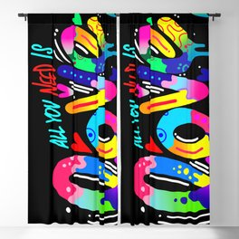 ALL YOU NEED IS LOVE Blackout Curtain