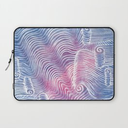 Blush Tint Abstract Laptop Sleeve