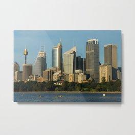 City of Sydney Metal Print