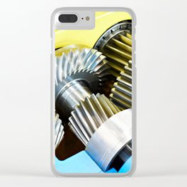 Gear speed reducer Clear iPhone Case