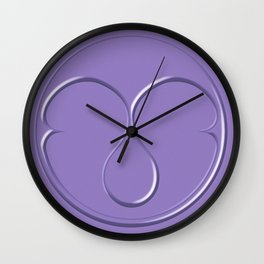 Rain On Me Tribe Symbol Wall Clock