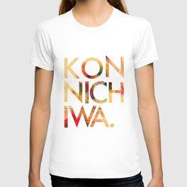 Konnichiwa! T-shirt