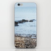 denmark iPhone & iPod Skins featuring Denmark Beach by Kayleigh Rappaport