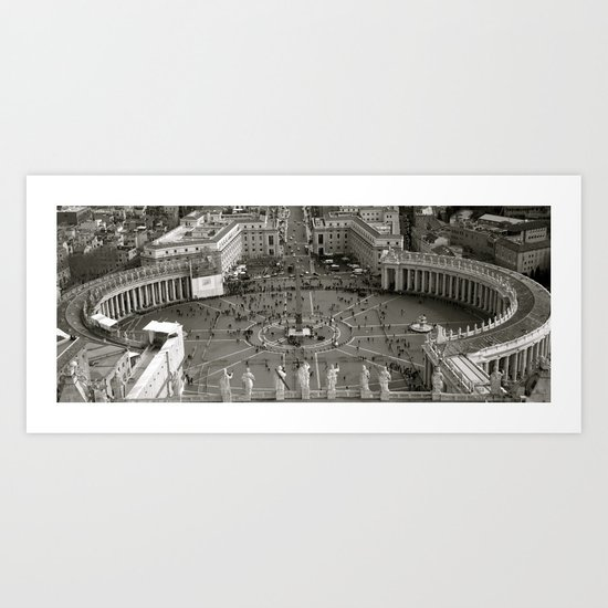 Vatican City Rome Art Print