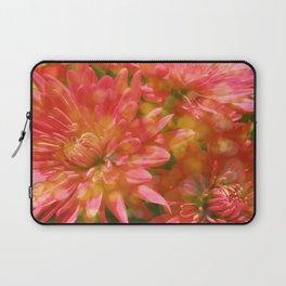 Glowing Chrysanthemums Laptop Sleeve