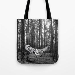 BETWEEN TREES Tote Bag