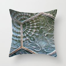 Barcelona Wall #1 Throw Pillow