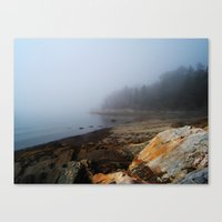 maine Canvas Prints featuring Maine by Charlotte Grant