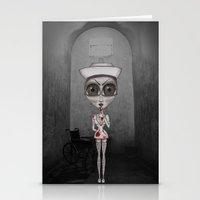 nurse Stationery Cards featuring Nurse Insane by Rez Designs