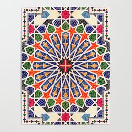 ARTERESTING V47 - Moroccan Traditional Design Poster