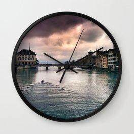 Zurich Wall Clock