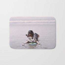 Coronado Dog Beach Bath Mat