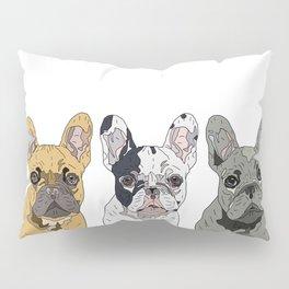 Triple Frenchies Pillow Sham