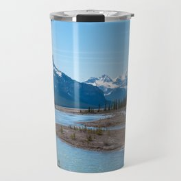 River along Icefields Parkway Highway 93 - Canada Travel Mug